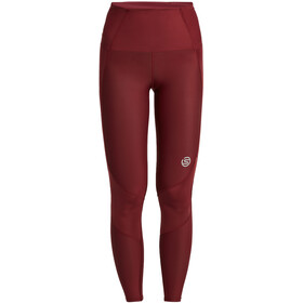 Skins Series-3 Skyscarper Tights Women, burgundy